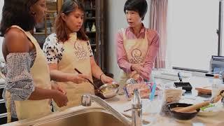外国人向け料理教室 わしょクック キャラクター弁当 くまモンのレッスン...