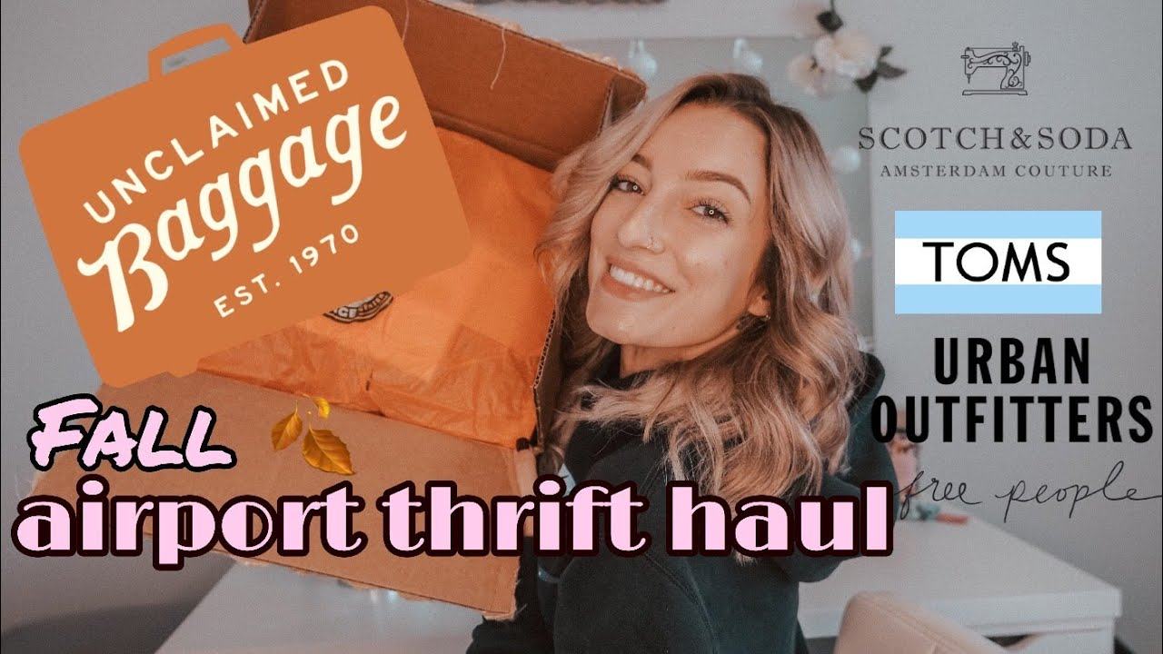 Unclaimed Baggage Store FALL AIRPORT THRIFT HAUL!