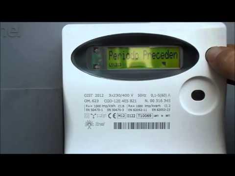 LEM s.r.l. - Video guida lettura registro di un contatore marca ...