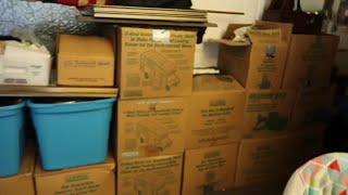 VINTAGE Antique LIFE TIME Collector Storage Unit