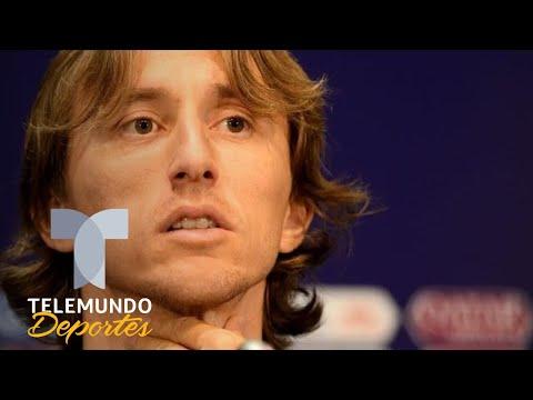 Simeone le dispara al Real Madrid y Luka Modric lo castiga de vuelta | Telemundo Deportes