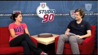 Studio 90 Extra Time: Alex Morgan, Pt. 2