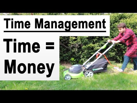 Time = Money in Online Business - Time Management (How To)