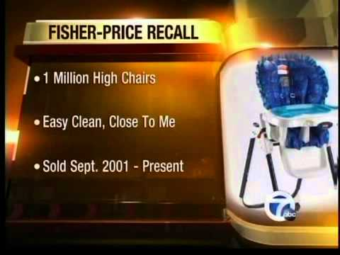 Fisher Price Recall
