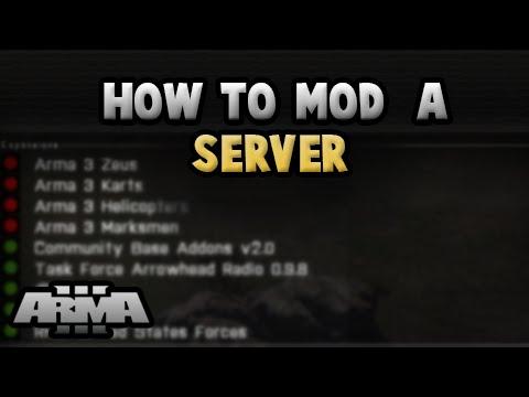Arma 3 dedicated server add mods i