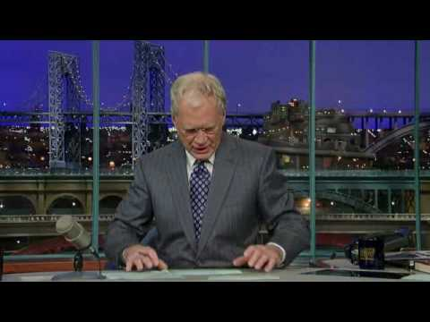 David Letterman's 'Top Ten Excuses of the Guy Who Lost the ...