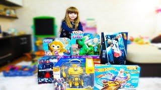 Большая распаковка, много игрушек!!!