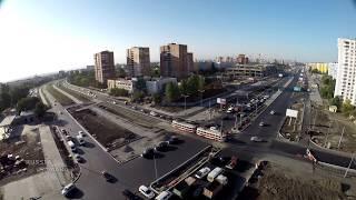 #Реконструкция дорожной развязки ул.Ташкентская / Московское шоссе #Samara