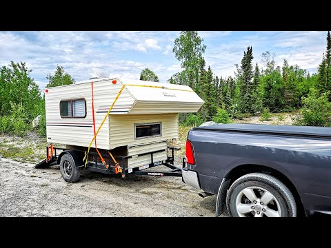 A LOWRIDER TRUCK CAMPER! Super Cheap.