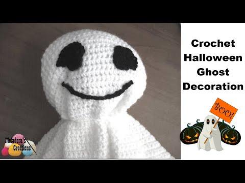 Crochet Halloween Ghost - Simple Crochet Tutorial