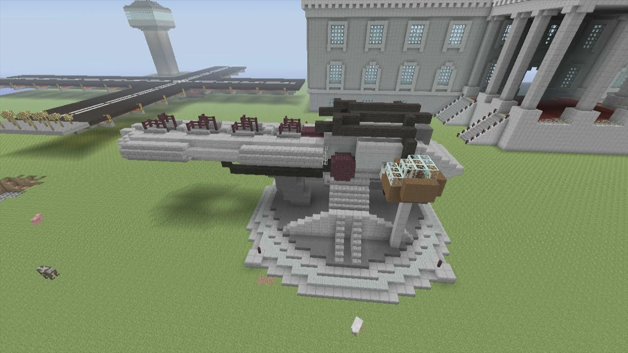 How To Build A Gun In Minecraft Xbox