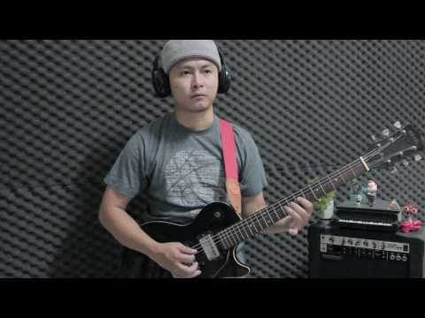 Bark at the Moon - Ozzy Osbourne Guitar solo Cover ( test )