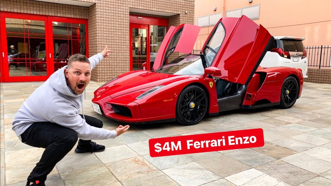 My First Time Driving In Japan Was A Ferrari Enzo Youtube