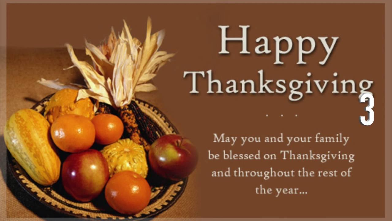 A Thanksgiving Wish Quote: TOP 10 Best Happy Thanksgiving Wishes & Messages For