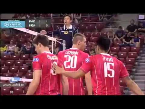 Pakistan vs France Volleyball match 2012.mp4 Travel Video