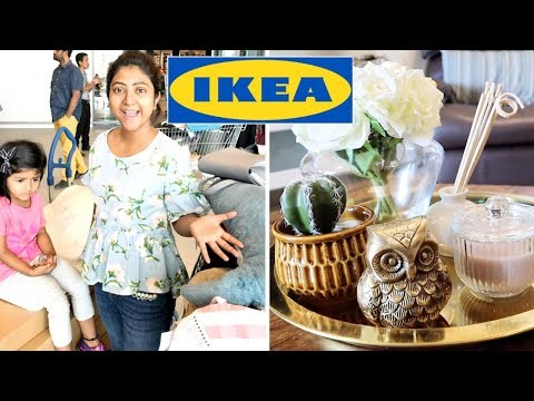 IKEA INDIA 2018   SHOP & DECORATE WITH ME !! BANGALORE TO HYDERABAD