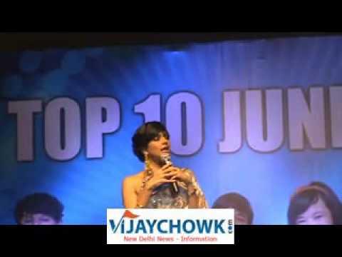 SONY TV INDIAN IDOL JUNIOR LIVE SHOW IN NEW DELHI
