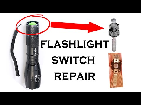 How to Repair Flashlight Switch (Fix Tailcap Switch): 12 Steps