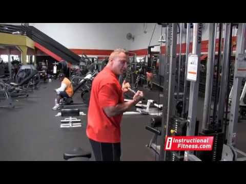 SEATED ONE DUMBBELL TRICEPS EXTENSION