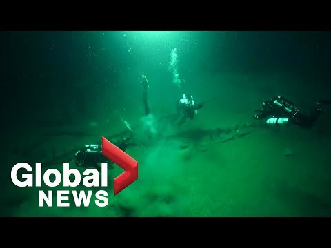 Maritime archaeologists discover 'oldest intact shipwreck' in the Black Sea