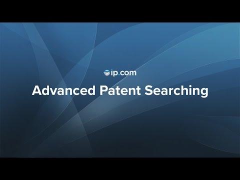 Advanced Patent Searching