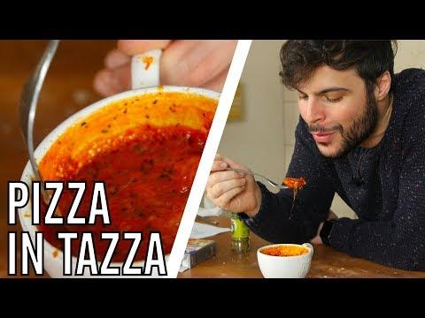 Come Fare la Pizza in Tazza al Microonde - CUCINA PER PIGRI - Guglielmo Scilla   Cucina da Uomini
