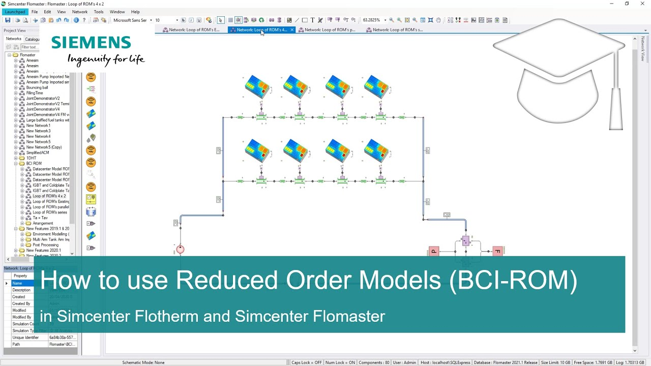 [TECH TIPS Simcenter Flomaster] How to use Reduced Order Models (BCI-ROM)