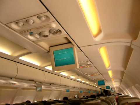 Pre-flight Islamic Prayer on Jazeera airlines plane