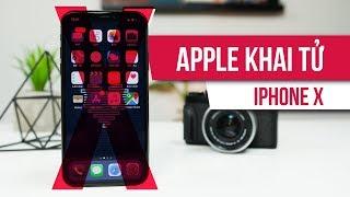 Mục đích thật sự Apple khai tử iPhone X là gì?