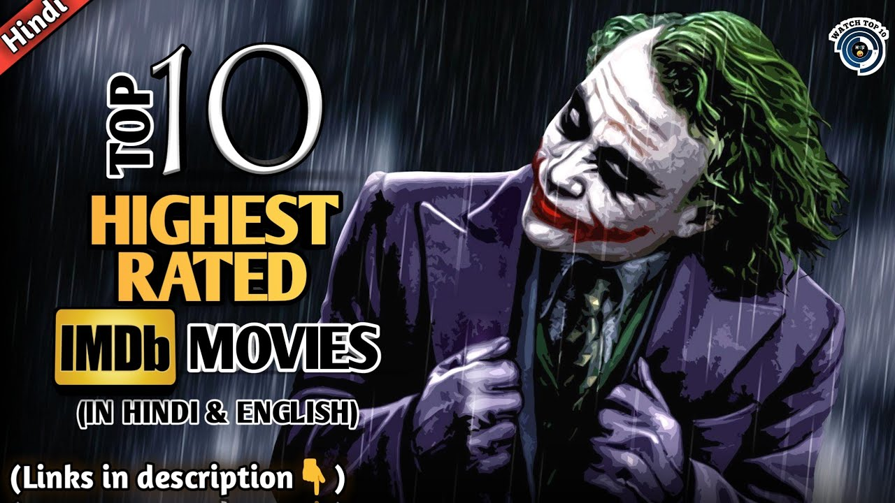 Download Top 10 Highest Rated Movies on Imdb in Hindi and English | 2021 | Hindi and English | Watch Top 10
