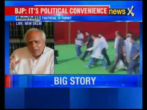 Congress leader Kapil Sibal holds press conference over defamation case filed by RSS against RaGa