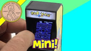 Worlds Smallest Toys 1980 Retro Flashback - Pac-Man!