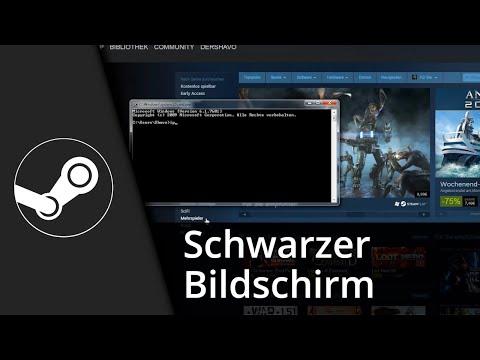 Steam Tutorial | Schwarzer Bildschirm / lädt nicht // Lösung [Deutsch/HD] thumbnail