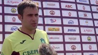 Интервью Артура Шилькер, представителя ФК Сбербанк