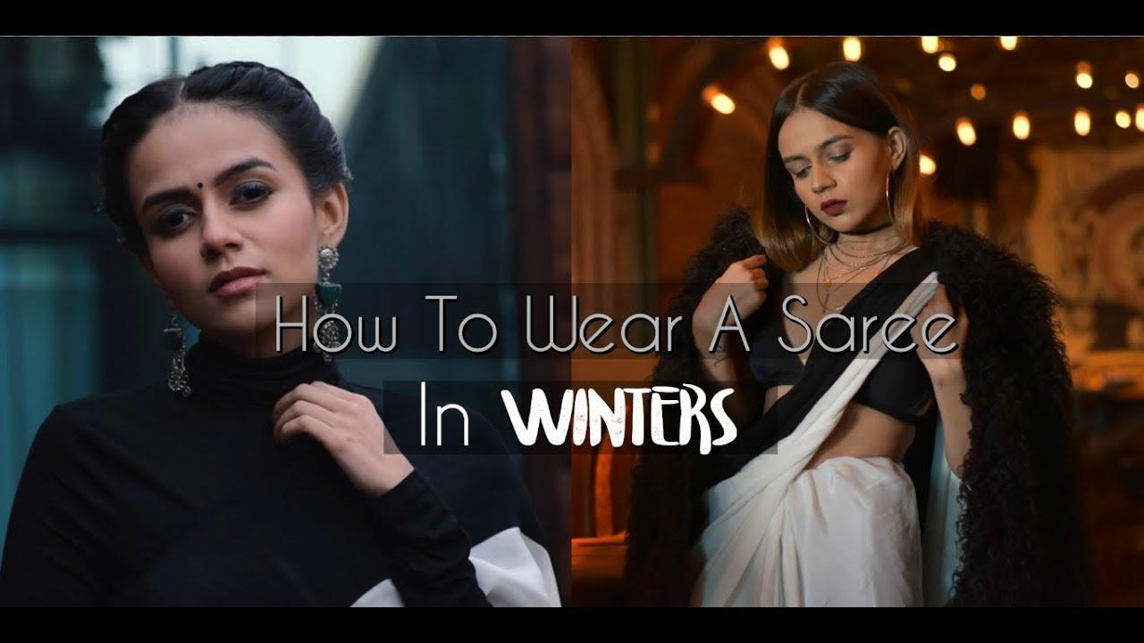 199da9ba80500b How To Wear A Saree In Winters