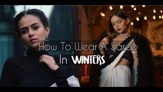 Styling Ethnic Wear in Winters