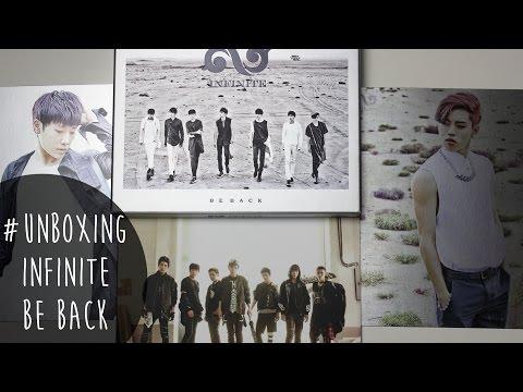 [Unboxing] Infinite Be Back Repackage