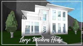 bloxburg mansion roblox modern welcome build