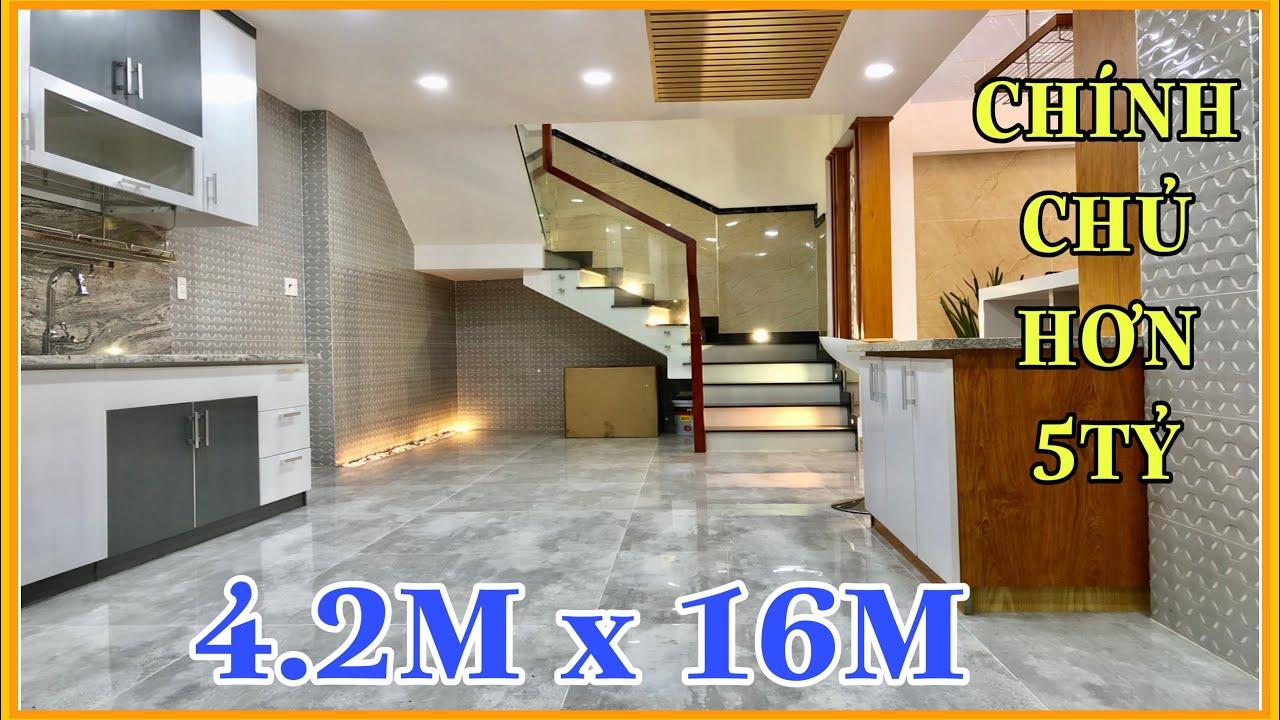 Bán nhà Gò Vấp | 4.2m x 16m Hơn 5 tỷ khu đồng bộ trệt lững 3 lầu Phan Huy Ích Gò Vấp