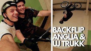 HÁTRASZALTÓ SULI - Első Szaltó BMX-el !! Anglia #vlog 2. rész!