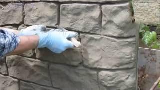 Steinoptik selber machen