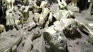 العثور على مغارة فيها كميات هائلة من الذهب والآثار