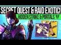 Destiny 2 | ORACLE SECRET QUEST & RAID EXOTIC! Hidden Strike, Infusion Trick, Exotic Quests & Reward