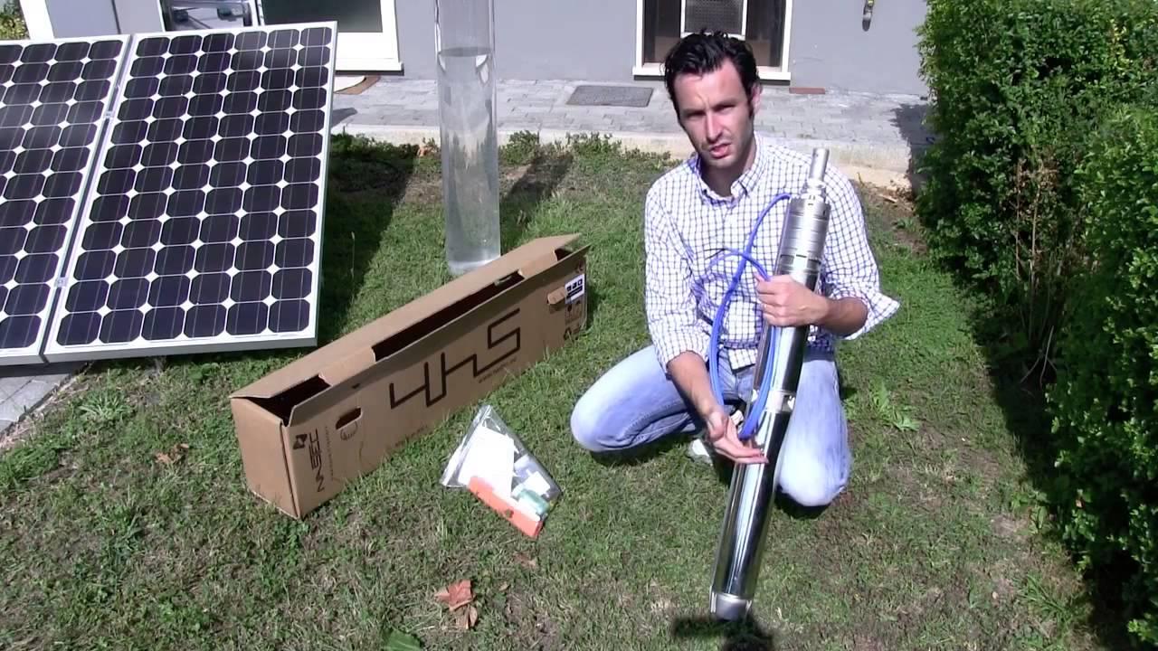 Bomba D 225 Gua Movida A Energia Solar Youtube