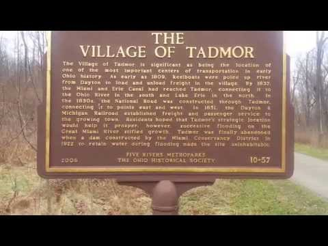 Welcome to the Ghost Town called Tadmor at Taylorsville MetroPark just north of Dayton, Ohio
