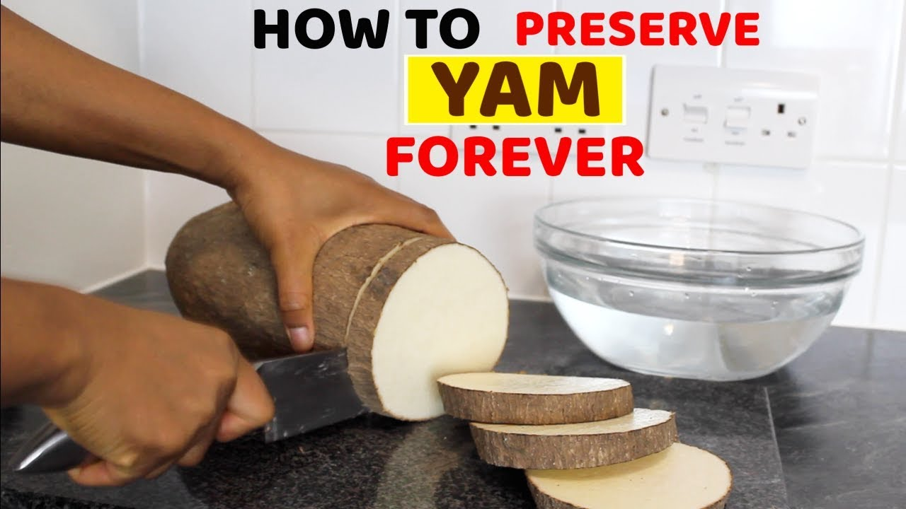 Download How to store or preserve yam for as long as you wish • Frozen Yam