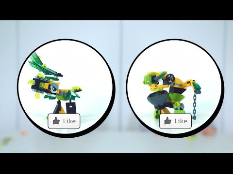 Slimey Worker Goo Mix - LEGO Mixels - Designer Challenge 12