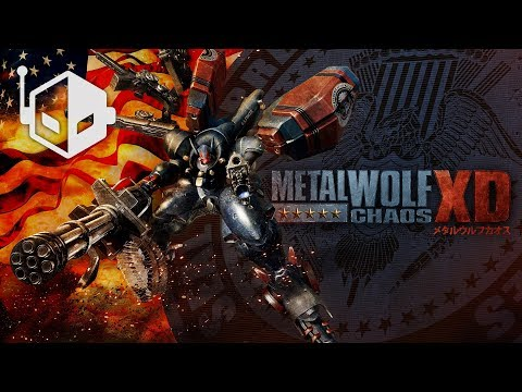 Metal Wolf Chaos XD PS4 Pro Grand Canyon Mission Gameplay