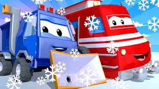 Sam, o limpa neve - Cidade do Trem 🚄 Cidade do Carro - Desenhos Animados para Crianças. 🚄