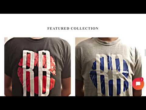 Shopify Starter Website for Ryders Block Crew streetwear brand